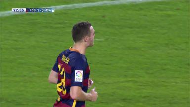 Vermaelen scores first Barca goal