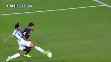 Barca denied two quick penalties