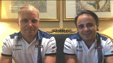 Williams retain Massa and Bottas