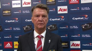 Van Gaal pleased with United win