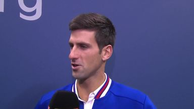 Djokovic: I could never relax