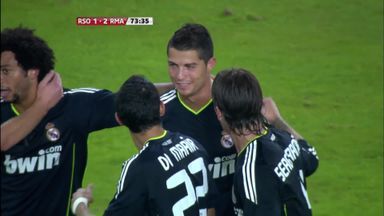 Ronaldo's mystery goal