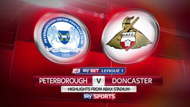 Peterborough 4-0 Doncaster
