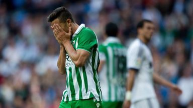 WATCH: Real Betis' Ruben Castro's bizarre miss against Rayo Vallecano