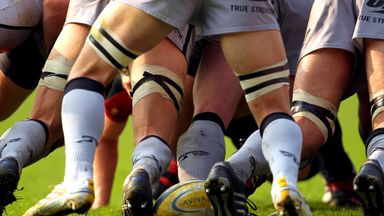 Hinckley RFC knock down posts!