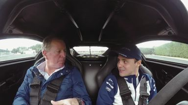 Massa and Brundle - (Driving) Licence To Thrill