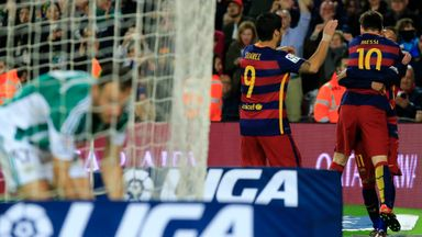 Messi scores in 500th appearance