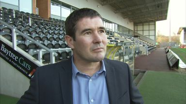 Clough targeting promotion