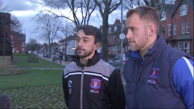 Carlisle duo help flood victims