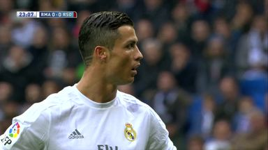 Ronaldo misses penalty!
