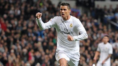 Perfect hat-trick for Ronaldo