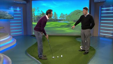 Shot Centre: Modern putting swing