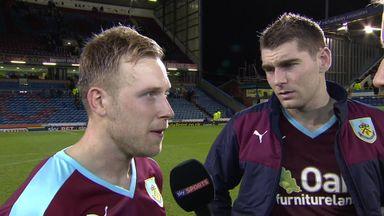 Burnley put four past Derby