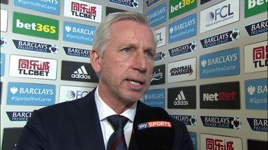 West Brom v Crystal Palace pre-match: Alan Pardew
