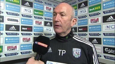 West Brom v Crystal Palace pre-match: Tony Pulis