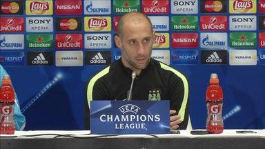 Zabaleta confident of Champions League success