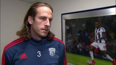 West Brom v Crystal Palace pre-match: Jonas Olsson