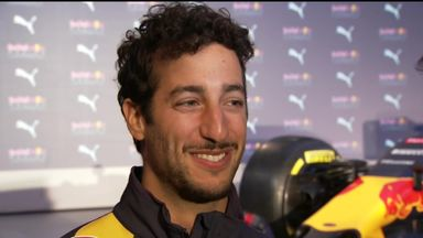 Ricciardo raises the volume for 2016