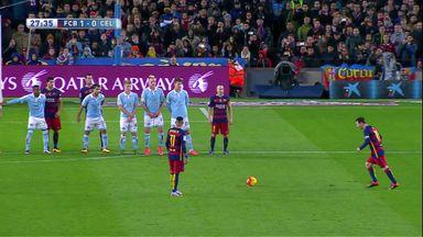 Magical Messi free-kick
