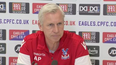 Pardew: Palace are in a relegation fight