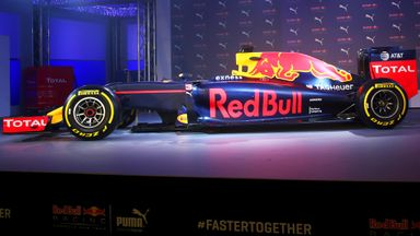 Red Bull's new look