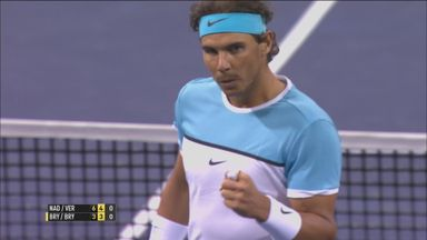Unbelievable defence from Nadal!