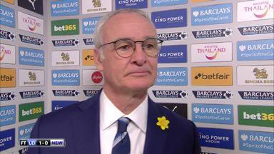 Ranieri hails Leicester spirit