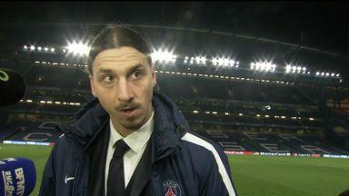 Ibrahimovic coy on future
