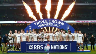 Rugby Club: England claim 6 Nations title