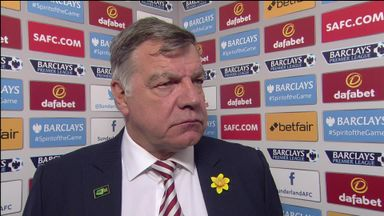 Allardyce unhappy with players' responsibility