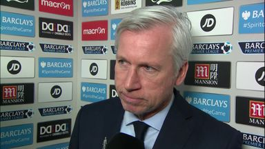 Pardew fumes at penalty decision