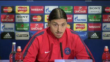 Zlatan focused on 'now'