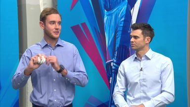 Bowling masterclass with Broad & Anderson