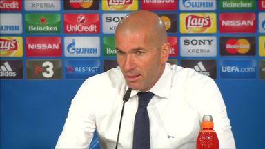 Zidane happy after Madrid progress