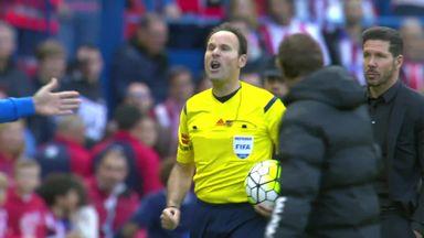 Atletico keep pressure on