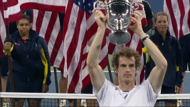 Murray reflects on first Grand Slam win