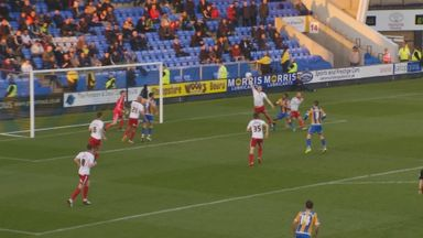 McEveley's bizarre handball