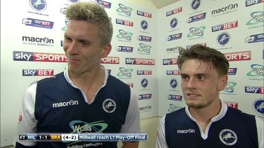 Millwall duo revel in victory