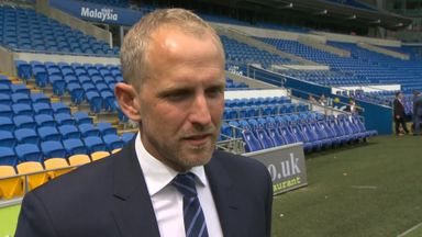 Trollope 'honoured' by Cardiff job