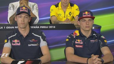 Max and Daniil face the media