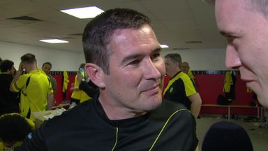 Clough praises predecessors