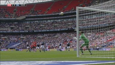 Hammill scores wonder goal at Wembley