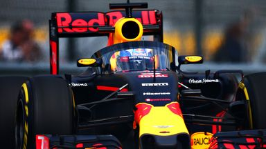 Red Bull trial new 'Aeroscreen' canopy