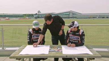 Force India Drawing Challenge - Cars