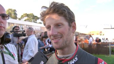 Amazing race for Grosjean in Australia