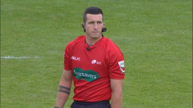 From soldier to Super League ref