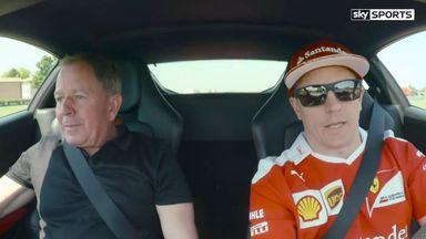 Brundle v Raikkonen