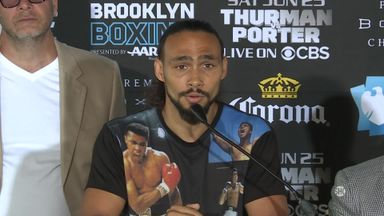 Thurman v Porter: Press conference