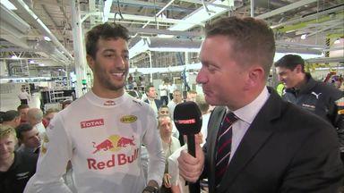 Ricciardo excited for British GP
