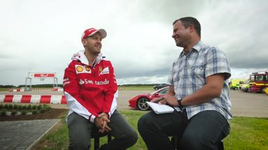 Why does Vettel love to swear?